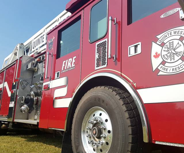 INQUINTE CA | Fire training facility in Quinte West vandalized