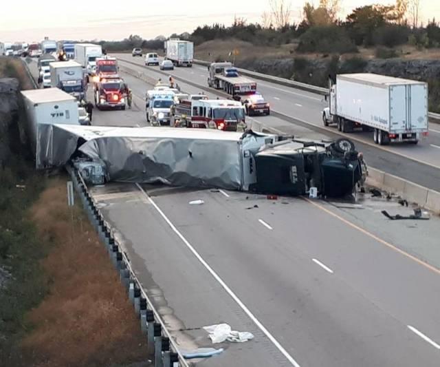 INQUINTE CA | UPDATE: Fatal crash 401 EB in Napanee