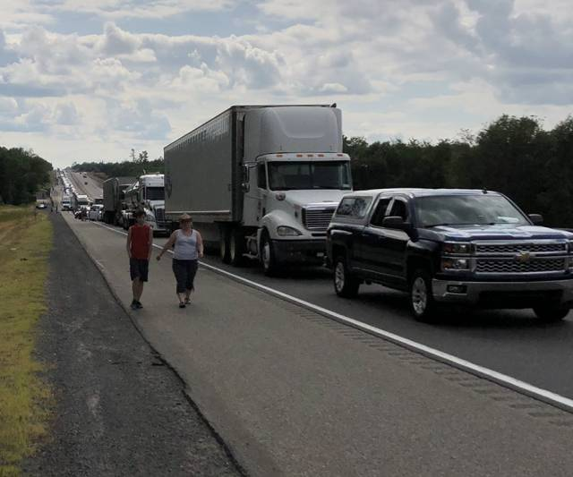INQUINTE CA | UPDATE: All lanes of EB 401 open at Shannonville Road